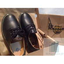 Dr. Martens 1461 3 Eye Shoes Smooth Leather Premium Quality Pantofel