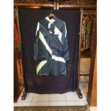 Dian Pelangi Windy Tunik + Masker by ( ORIGINAL ) Baju Atasan Kemeja Blouse Batik Viscos Wanita Hijaber Cantik Anggun Modis Modern Kerja Kantor Pesta Casual Formal Model Motif Terbaru Kekinian
