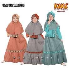 Keke Sumut Baju Muslim Gamis Anak Katun Gm Sr 181908 Busana Muslim