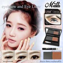 Menow Pro Generation II Attractive Eyebrow Powder 2in1 Original make up mata