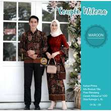 Zora Kebaya Baju Couple Kebaya Brokat / Baju Kondangan / Baju Tunangan / Baju Pesta Modern