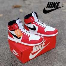 JORDAN Sepatu Olahraga Nik Jordan Termurah Dan Terbaru | Sepatu basket - merah putih, 39