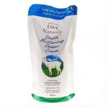 leivy Sabun Mandi Cair Dari Susu Kambing Goats Milk Refill Isi 900Ml