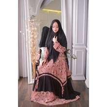 Kanaya Gamis Ruqaiya syari by TWS0336 (LD110) (Int:XL, Pink)