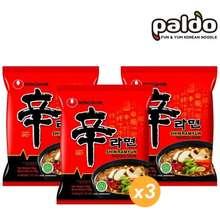nongshim Bundle 3 Pcs Shin Ramyun Noodle Korean Food Mie Instant