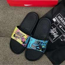 Nike Sandal Pria Benassi Swoosh Original, Sandal Murah