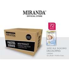 Miranda Hair Color (Cat Rambut Permanen) Pastel Series Super Blue Bleaching 30Ml (Paket 72 Pcs)