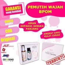 SR12 Paket Cream Pemutih Wajah Korea Bpom Ampuh - Glow Glas Skin Ggs Paket Whitening Pria Wanita