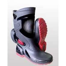 AP Boots Moto 3 Sepatu Safety Anti Air Bahan PVC By