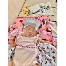 Tanpa Merek Gaya Face Shield Baby Pelindung Wajah Apd Untuk Bayi - Biru Bergaransi