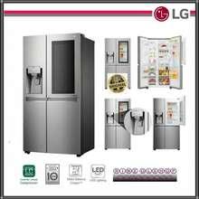 LG LG GC-X247CKAV KULKAS SIDE BY SIDE INSTAVIEW INVERTER DOOR IN DOOR 601