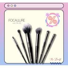 Focallure Brush 6 Pcs Set Kuas Makeup Alat Kecantikan