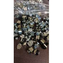 Bolt Cage Nut Cage Nut M6 Baut Isi 50 Pasang