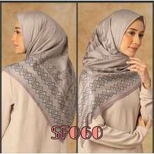 Deenay Kerudung/Hijab/Jilbab Segi Empat KW (Int:XL, SF059)