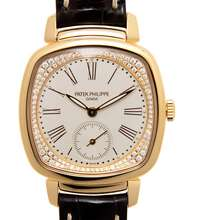Patek Philippe Gondolo Hand Wind Silver Dial Ladies Watch 7041R 001