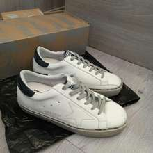 Golden Goose Sepatu Db Sneakers Black White Mirror Quality