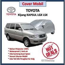 F-New Body Cover Silver Toyota Kijang LGX kapsul
