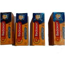 redoxon Vitamin C D Zinc Rasa Jeruk 10 Tablet