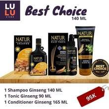natur Perawatan Rambut Rontok 140 ml Natur Ginseng Series