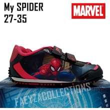 Marvel Sepatu Sekolah Anak Spiderman, Sepatu Sekolah Tk Paud Sd, Sepatu Karakter