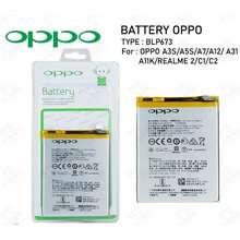 Alto Batere /Baterai /Battery/Batre Oppo A7/A3S/A5S /Blp673 Doubel Power + Original