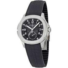 Patek Philippe Aquanaut Dual Time Black Dial Automatic Mens Watch 5164A 001