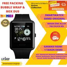 SKMEI Jam Tangan Pintar Pria Wanita Original Digital Sportwatch Bluetooth Smartwatch