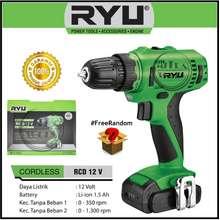 Ryu Mesin Bor Baterai Cordless Drill Rcd 12V