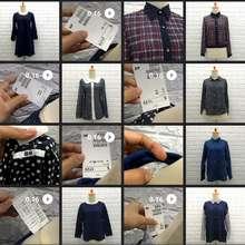 Impor Random Baju Atasan Wanita Lengan Panjang Blouse Baju Wanita Cewe