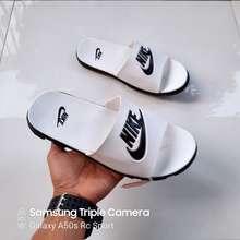 Nike Sendal slop-Sendal Nike-Sendal nike import-Sendal slop pria - Putih, 42