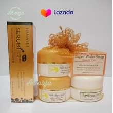 WALET Cream Super Gold Plus Serum - Pemutih Pencerah Wajah - Penghilang Jerawat - Penghilang Flek Hitam - Skin Care - AL azja