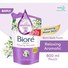 Biore Beauty Body Foam Relaxing Aromatic 800 Ml (Sabun Mandi Cair Isi Ulang)