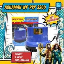 ikan Pompa Air Celup Kolam Aquarium Aquascape Akuarium Aqura Asp Psp 2200 A 2200A 16 Watt 2 Meter 1600 Liter