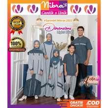 Nibra's Sarimbit Nibras 2021 Deanna / Baju Muslim Couple Keluarga / Seragam Keluarga / Baju Seragam Lebaran