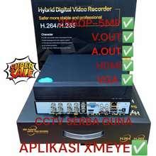 Analog Dvr Xmeye 8Ch 1080P Hybrid 6In1 Ahd Tvi Cvi Ip Camera