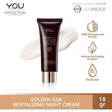Y.O.U Golden Age Revitalizing Night Cream 18 gr
