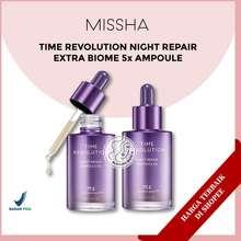 Missha [Bpom] Time Revolution Night Repair Probio Ampoule 5Th Generation - 50Ml & 15Ml