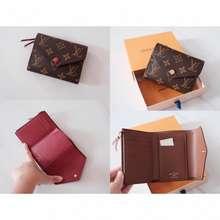 Louis Vuitton Trifold Victorine Monogram Small Wallet Women