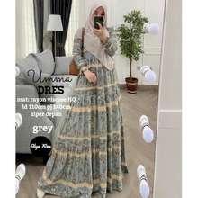 Umma Baju Gamis Dress Muslim Umma Rayon Viscose HQ