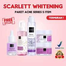 Scarlett Whitening Acne [Free Gift] Series Treatment Paket By Felicya Angelista Original Bpom