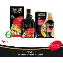 Natur Paket (Hair Vitamin & Shampoo For Colored Hair) - 2pcs