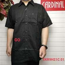 Cardinal Elgo Crb Kemeja Big Size Pakaian Pria Hem Reguler Kemeja Jumbo Lengan Pendek
