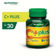 Nutrimax C+ Plus - Vitamin Vit C Imunitas Daya Tahan Tubuh Antioksidan Kesehatan Kulit Flu Batuk