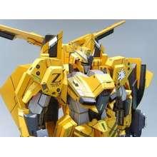 Gundam Msz 006 Zeta Gray Wolf Evolve Papercraft