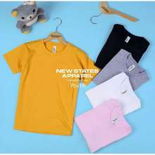 New States Apparel Kaos Polos Anak Laki/ Perempuan Premium Cotton