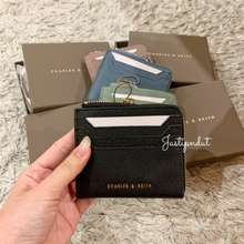 Charles & Keith Small Zip Pouch Card Holder Charles And Keith