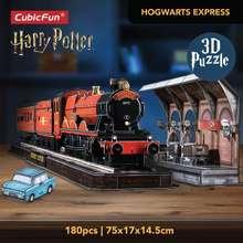 Harry Potter Cubicfun Hogwarts Express 3D Puzzle