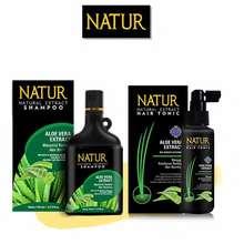 Natur Shampo Aloevera 140 ml + Hair Tonik Aloevera 90 ml