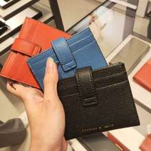 Charles & Keith Button Card Holder Ck