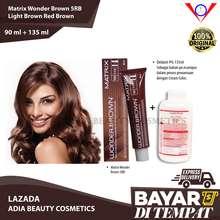 Matrix Cat Rambut Hair Color Wonder Brown WB-5RB Light Brown Red Brown 90gr + Oxydant 135ml best seller / pewarna rambut yang bagus permanen / pewarna rambut yang bagus halal / pewarna rambut yang bagus / semir rambut yang bagus / semir rambut